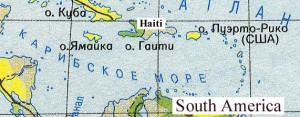 о. Гаити в Карибском море