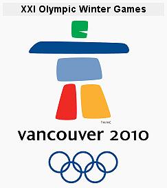 Эмблема XXI зимних Олимпийских игр