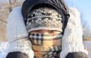 It's cold!!!!
